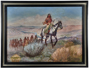 Robert Farrington Elwell (American, 1874-1962) oil on canvas