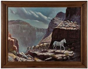 W.H.D. Koerner (German-American, 1878-1938) Untitled