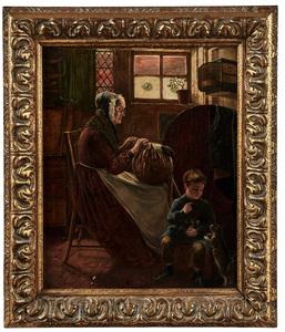 William Weekes painting