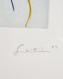 Helen Frankenthaler (American, 1928-2011) Sunshine After Rain
