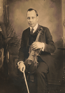 James VanDerZee Studio Portrait of a Violinist