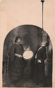 James VanDerZee Studio Portrait of Musicians Posing