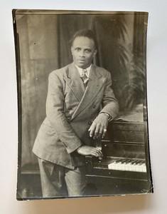 James VanDerZee Studio Portrait of a Gentleman at the Piano