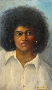 Charles Bohannah Portrait of a Woman