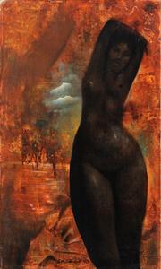 James Wilson Edwards Untitled Surrealist Portrait