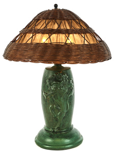 Strobl Pottery lamp