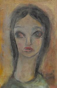Irene Clark Portrait of a Girl