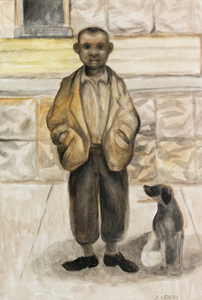 Joseph Kersey A Boy and His Dog Chicago