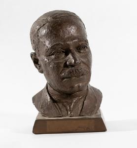 Inge Hardison Portrait Bust of Dr. Daniel Hale Williams