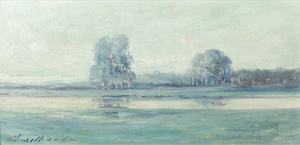 Thomas J Willison Tonalist Landscape