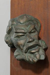 Robert Edmond Lee Jones Relief Sculpture of John Brown