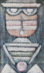 Charles Sebree Untitled Masked Figure