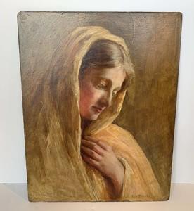 Henry Ossawa Tanner Virgin Mary in Meditation
