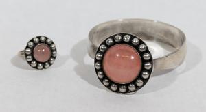 Niels Erik From Danish Modern Bracelet and Ring Set