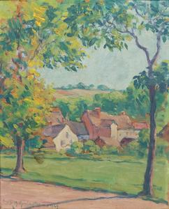 Frank M. Armington Paysage Près de Louviers
