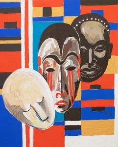 Lois Mailou Jones African Masks