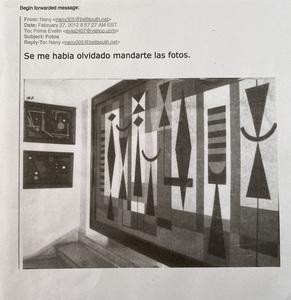 Lolo Soldevilla ( Cuban 1901-1971) painting