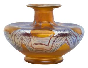 Loetz vase, circa 1900