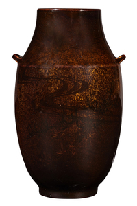 Rookwood Pottery by Albert Valentien Fish vase