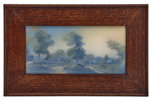 Rookwood Pottery plaque