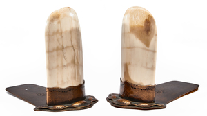 Berry's Arts & Craft Shop bookends, pair