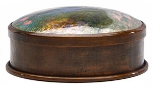 Frank J. Marshall Peacock box, attribution