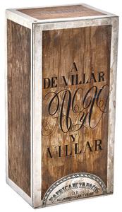 A De Villar Y Villar cigar box