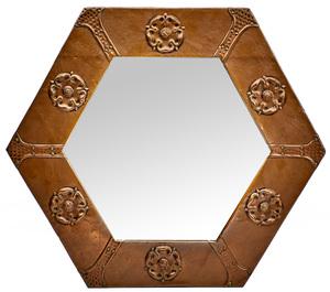 Keswick School of Industrial Arts mirror, attributed