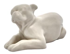 Rookwood Pottery Bulldog paperweight