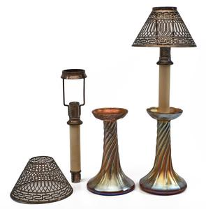 Louis Comfort Tiffany lamps