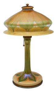 Louis Comfort Tiffany desk lamp
