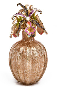 Jay Strongwater perfume bottle