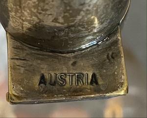 Austrian glass decanter