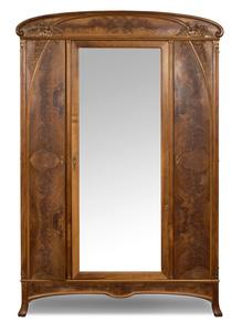 French art nouveau armoire