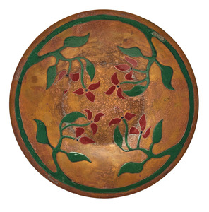 Arts Crafts Shop plate