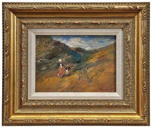 Harold Ellsworth Bassett painting