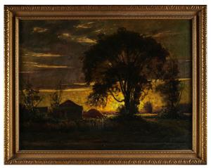 J.L. Sangster painting