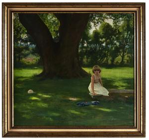 Allan R. Banks painting