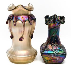 Kralik and Pallme Koenig vases
