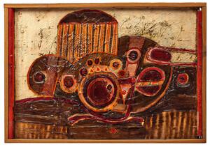 Harvey Cropper painting