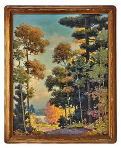 Carl Wendell Rawson painting