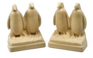 Rookwood Pottery bookends