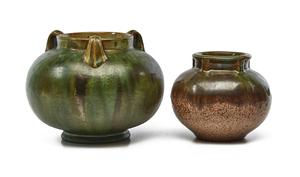 Fulper Pottery vases