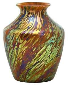 Loetz vase, circa 1901