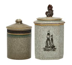 Royal Copenhagen jars