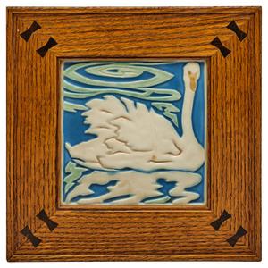 Rookwood Pottery tile