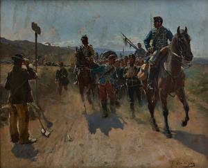 Paul Emile Boutigny painting