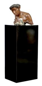 Carole A. Feuerman sculpture