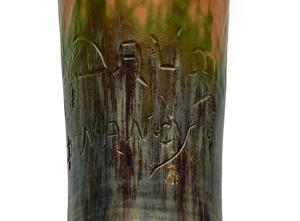 Daum vase - over 100 years old