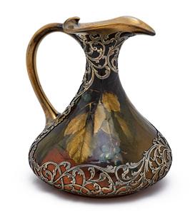 Rookwood Pottery handled vessel